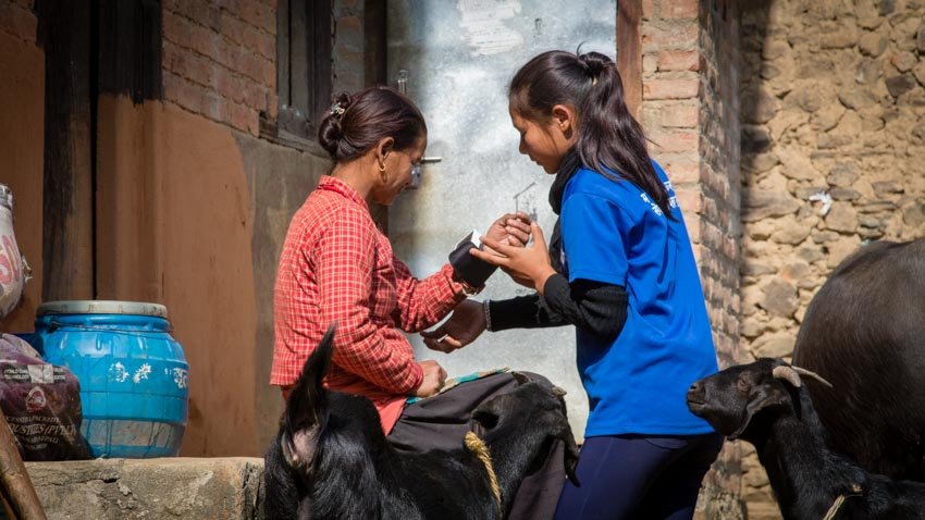 Acupuncture Relief Project  | Good Health Nepal | Andrew Schlabach