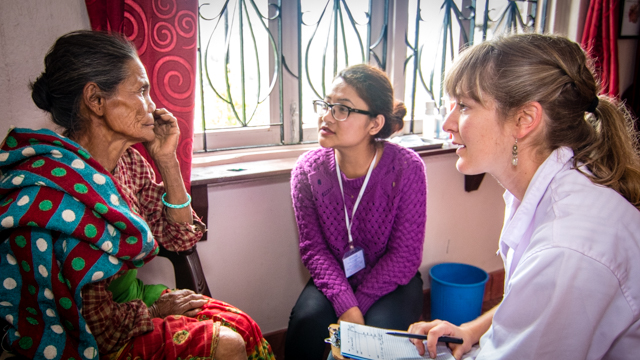 Acupuncture Relief Project  | Good Health Nepal | Emma Snare