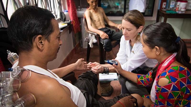 Acupuncture Relief Project  | Good Health Nepal | Kallie Harrison