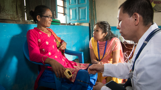 Acupuncture Relief Project  | Good Health Nepal | Kuong Wang