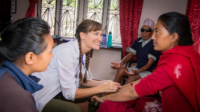 Acupuncture Relief Project  | Good Health Nepal | Melissa Laws