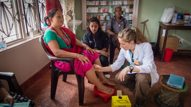 Acupuncture Relief Project  | Good Health Nepal | Sandy Homer
