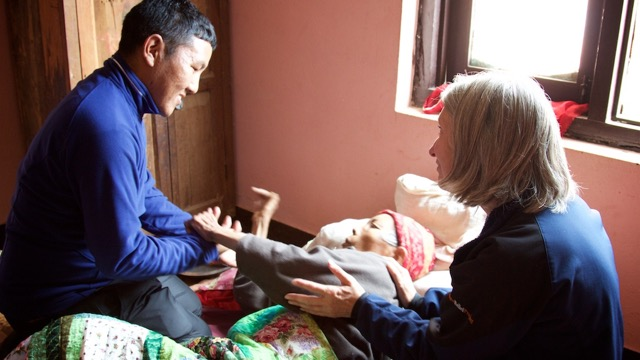 Acupuncture Relief Project  | Good Health Nepal | Sheri Barrows