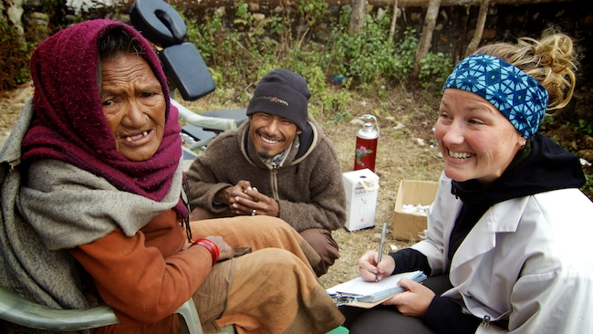 Liz Kerr | Acupuncture Volunteer Nepal