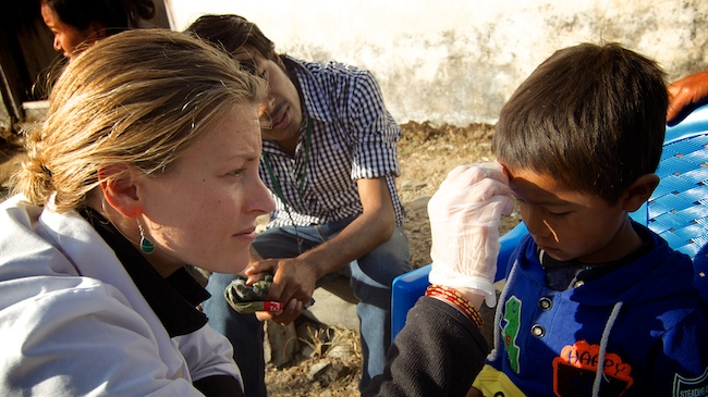 Chanel Smythe | Acupuncture Volunteer Nepal