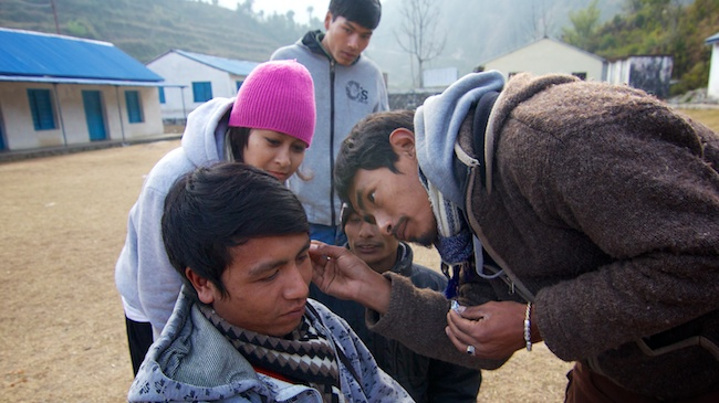 Interpreter Training | Acupuncture Volunteer Nepal