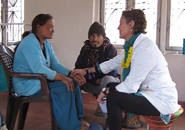 Acupuncture Relief Project  | Good Health Nepal | Angela Freeman