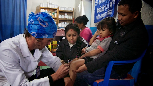 Chad Wuest | Acupuncture Volunteer Nepal