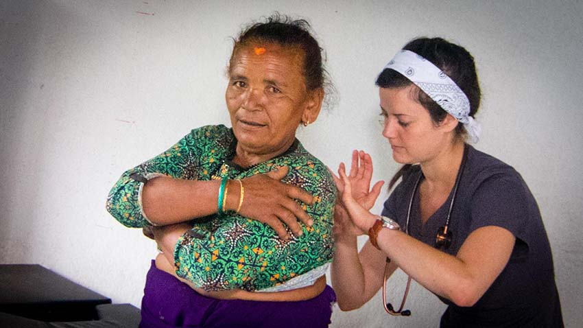 Acupuncture Relief Project  | Good Health Nepal | Chelsea Leander ND