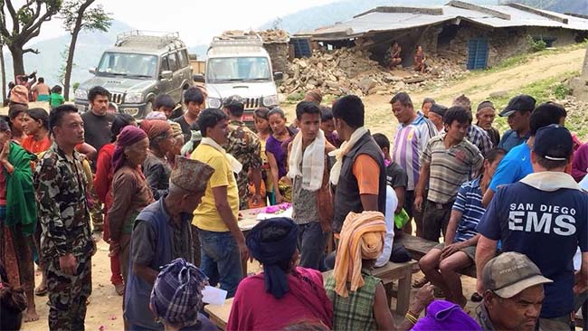 Acupuncture Relief Project  | Good Health Nepal | Earthquake Response