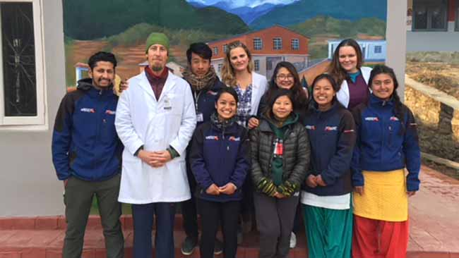 Acupuncture Relief Project  | Good Health Nepal | Kimberly Shields