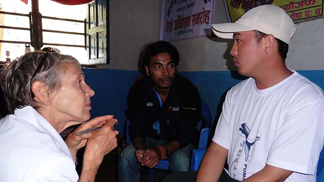 Marian Klaes | Acupuncture Volunteer Nepal