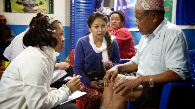 Kogate Patients | Acupuncture Volunteer Nepal