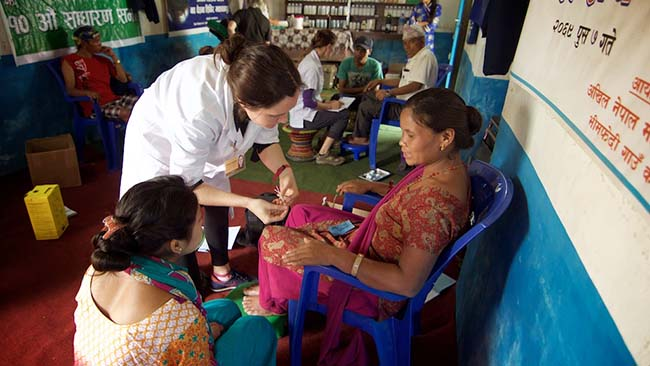Acupuncture Relief Project  | Good Health Nepal | Rachel Hemblade