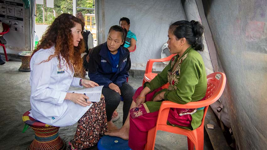 Acupuncture Relief Project  | Good Health Nepal | Sarah Maiden