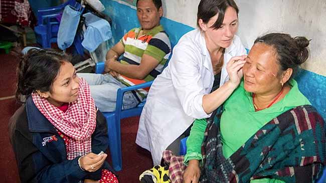 Acupuncture Relief Project  | Good Health Nepal | Meghan Keysboe