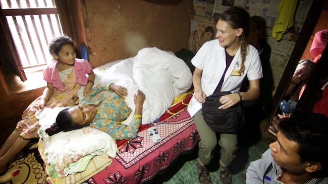 Acupuncture Relief Project  | Good Health Nepal | Kimberley Shepherd