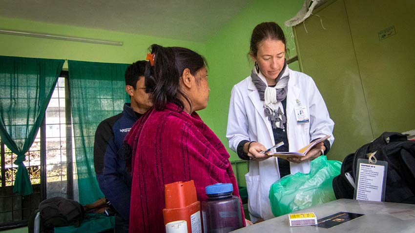 Acupuncture Relief Project  | Good Health Nepal | Leah Friend