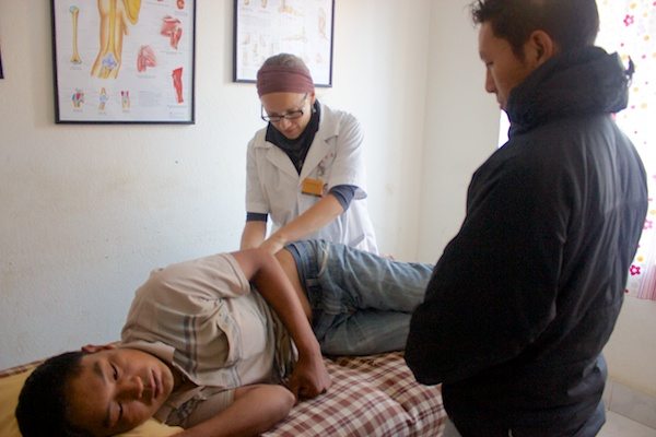 Sarah Richards Massage Therapist Volunteer Nepal