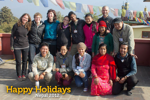 Happy Holidays: Acupuncture Volunteers Nepal