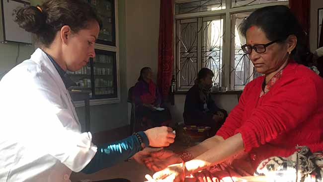 Acupuncture Relief Project  | Good Health Nepal | Sugandhi Jordan