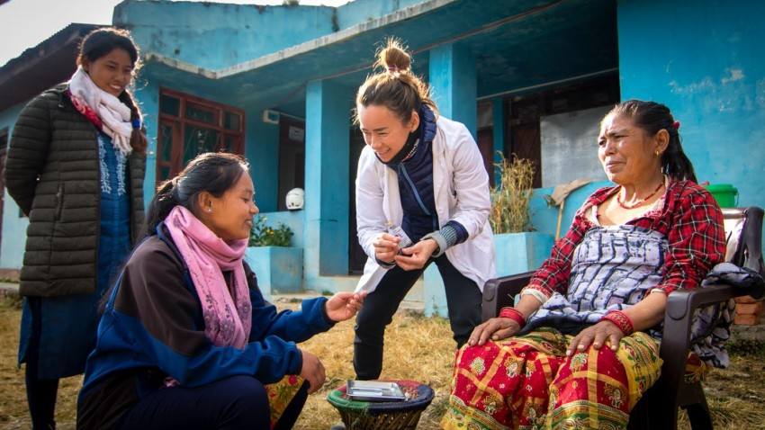 Acupuncture Relief Project  | Good Health Nepal | Tameka Lim-Velasco
