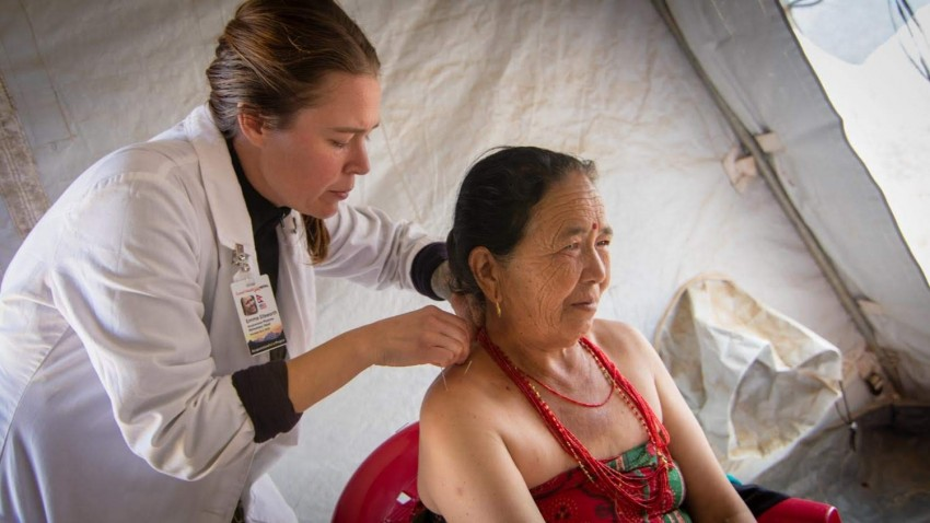 Acupuncture Relief Project  | Good Health Nepal | Emma Ellsworth