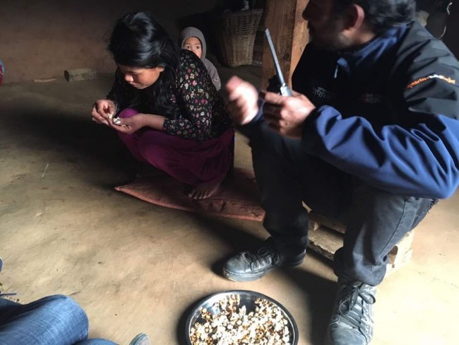 Acupuncture Relief Project  | Good Health Nepal | Kyndl Mueller