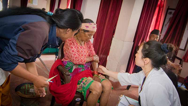 Acupuncture Relief Project  | Good Health Nepal | Yun Xiao